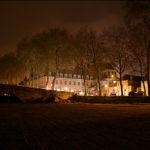 Hôtel de l'Abbaye depuis les quais de Loire